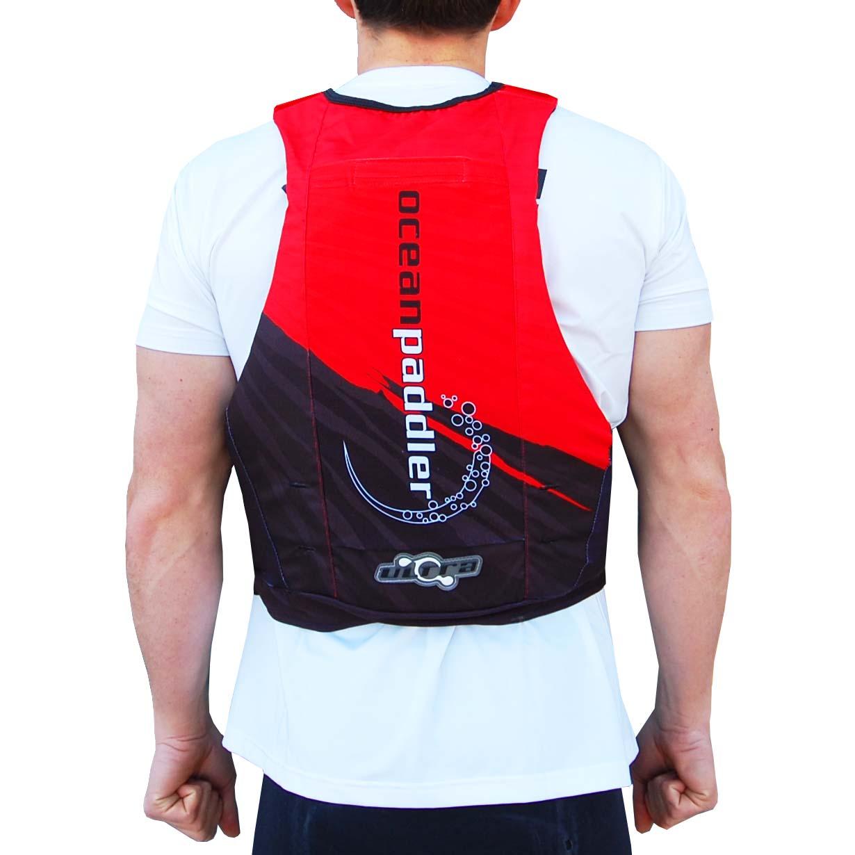 Oceanpaddler Red Lifejacket Oceanpaddler