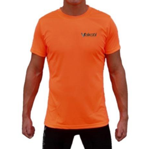 fluro orange short sleeve tshirt