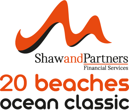 20 beaches logo